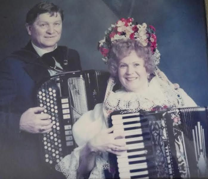 Vlasta Krsek and her husband Jan.