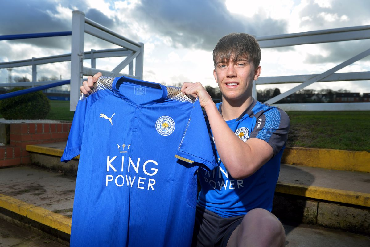 Leicester City unveil new signing Callum Wright...