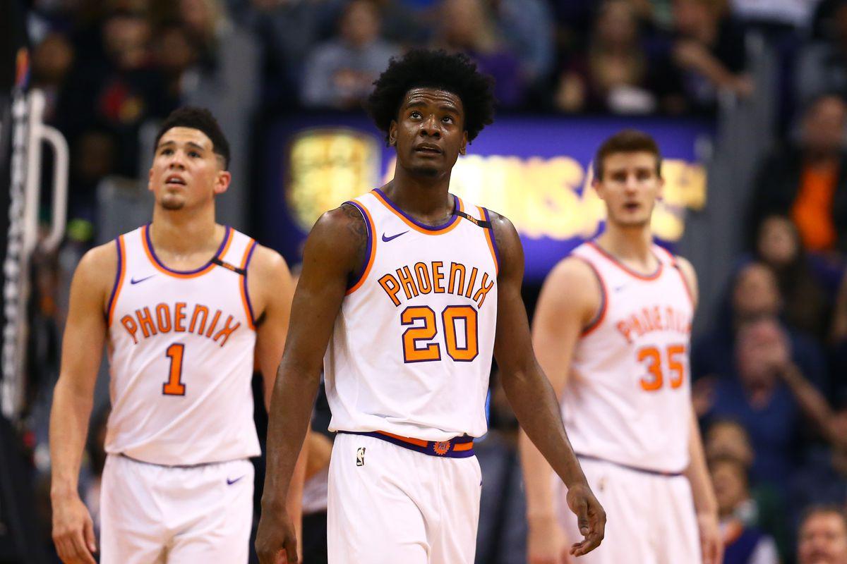 super popular b2d9e 80a7a Phoenix Suns' defensive improvement hinges on Josh Jackson ...