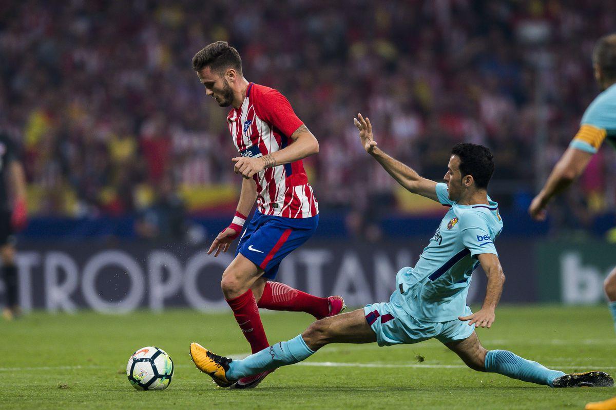 La Liga 2017-18 - Atletico de Madrid vs FC Barcelona