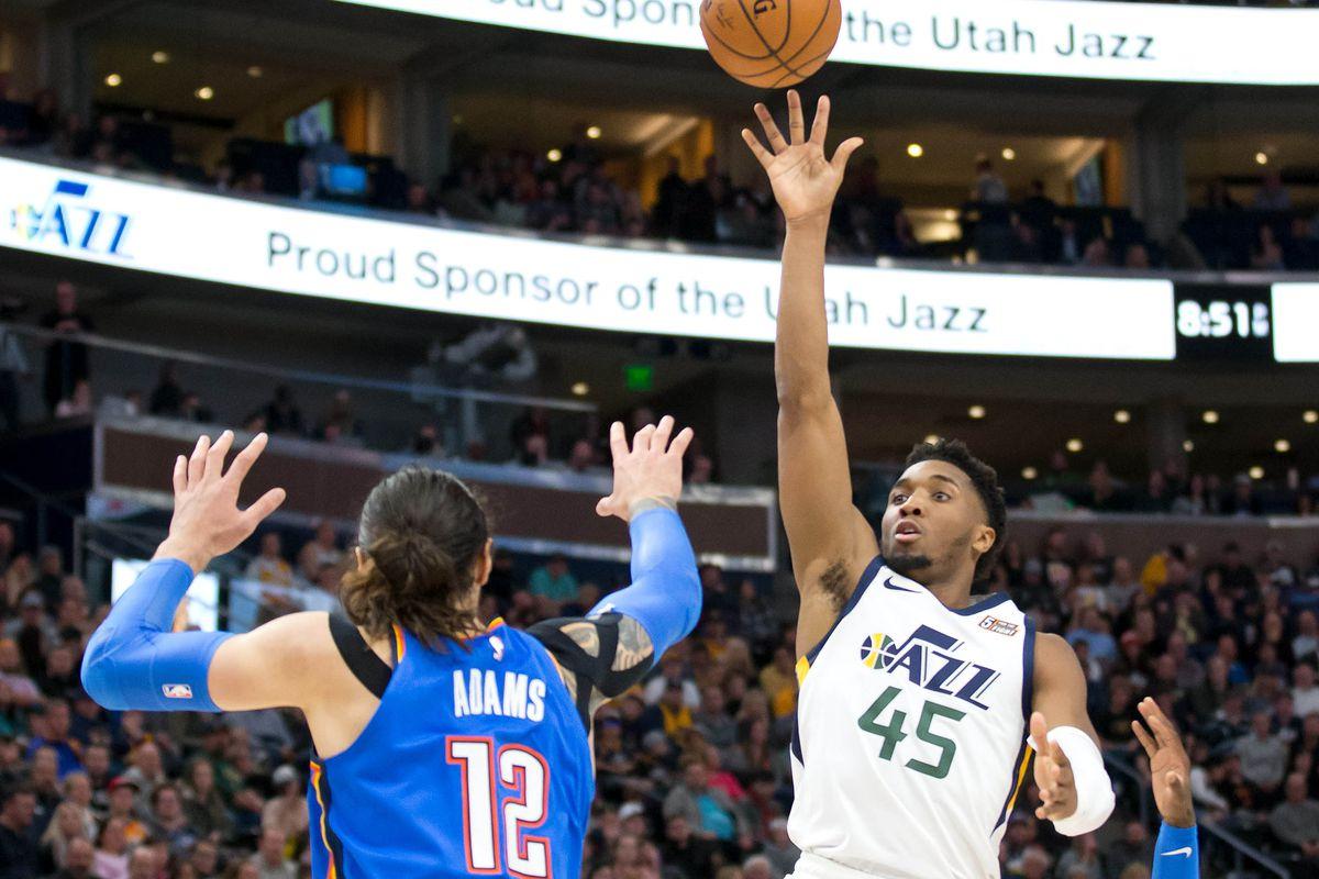 Resultado de imagen para Utah Jazz vs. Oklahoma City Thunder