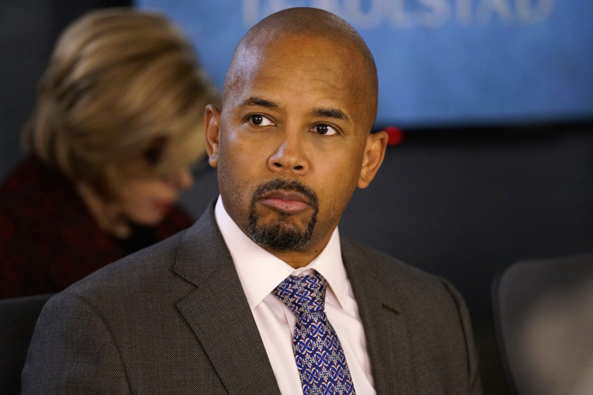 Julius Cain, played by Michael Boatman(CBS)