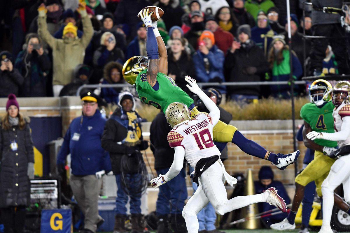 NCAA Football: Florida State at Notre Dame
