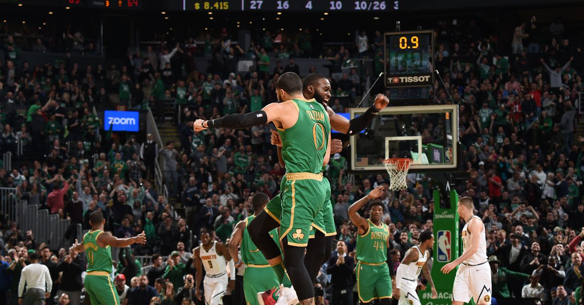 The Celtics are a very real NBA title contender