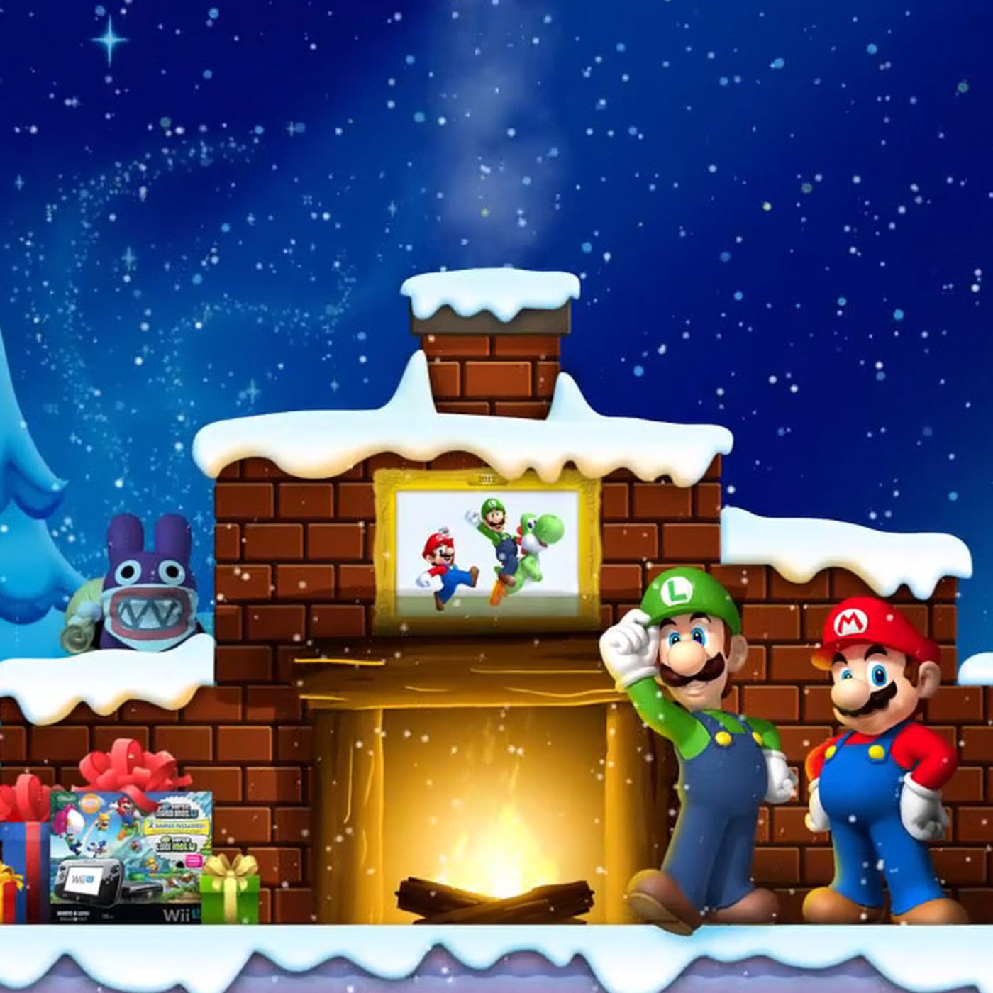 Nintendo wishes you a happy holidays with the Brothers Mario - Polygon