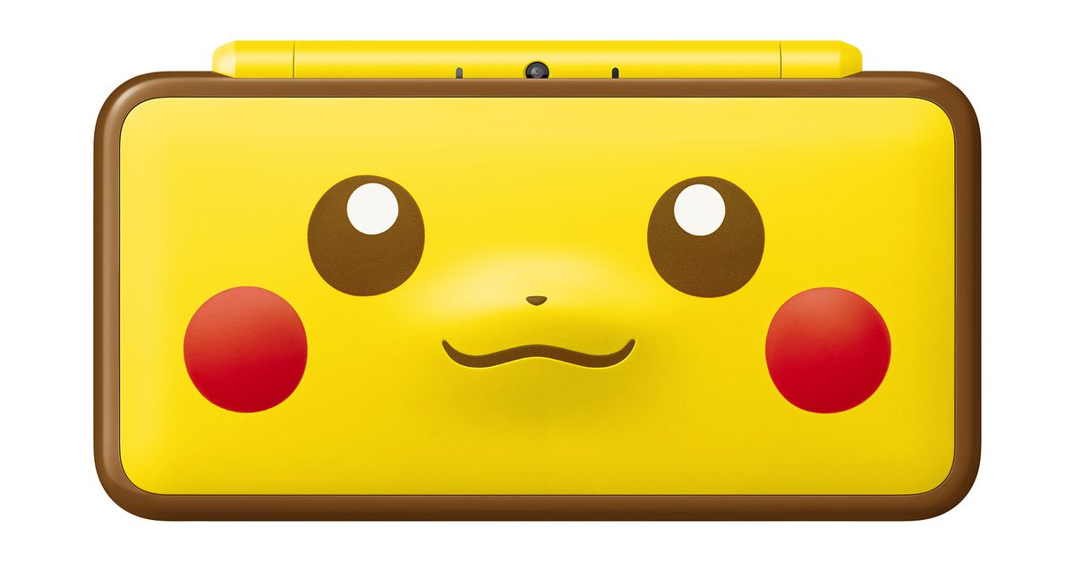Adorable Pikachu 2DS XL coming Jan. 26