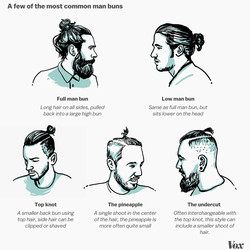 """<a href=""""http://vox.tumblr.com/post/129658772112/man-buns-where-do-they-come-from-and-more""""> Vox</a>"""