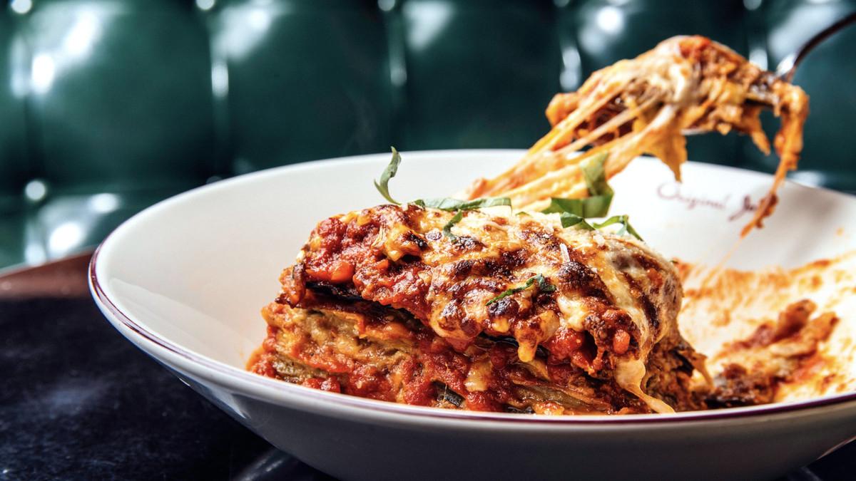 Lasagna from Original Joe's