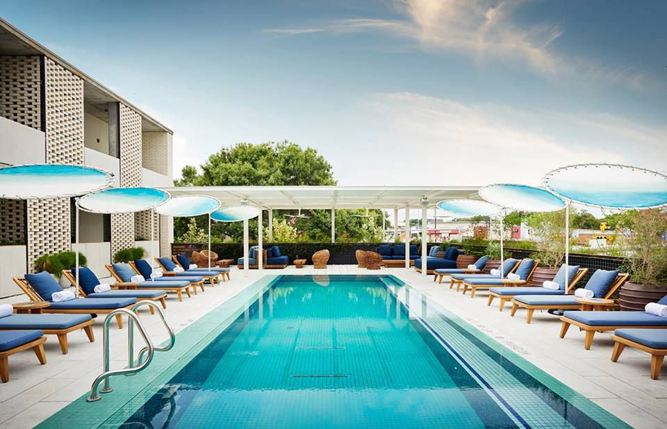 South Congress Hotel's pool