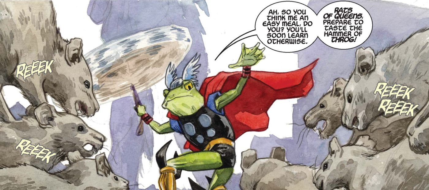 The Worthy Avengers Who Can Wield Thor S Hammer According To Comics Polygon