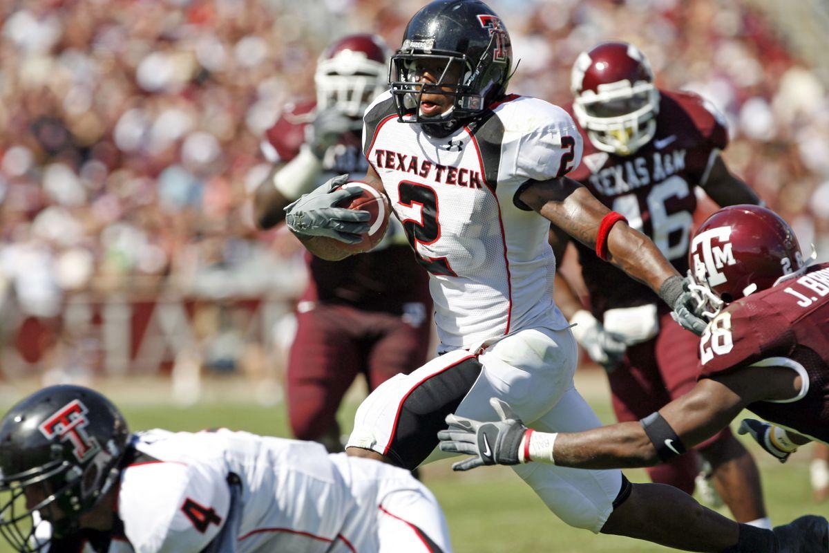 Football - NCAA - Texas Tech vs. Texas A&M