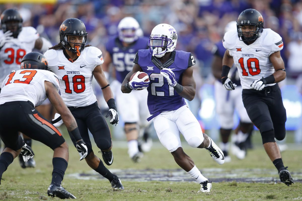 Full coverage of No. 8 TCU @ No. 14 Oklahoma State - Frogs ...
