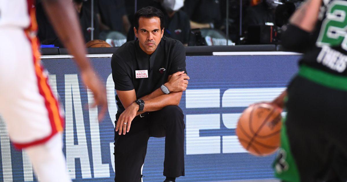 Erik Spoelstra is the Miami Heat's greatest advantage in the NBA Playoffs thumbnail