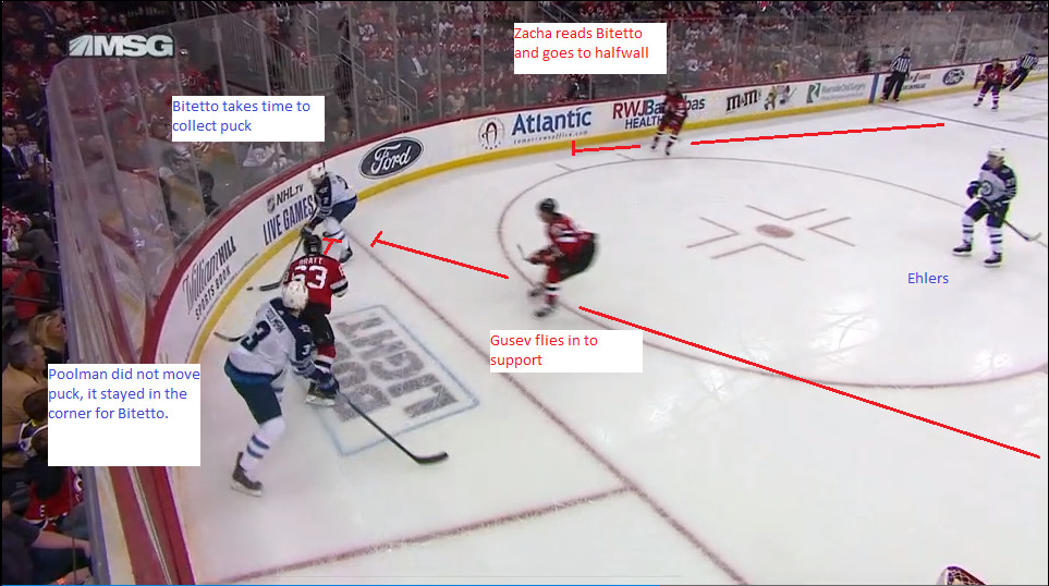 Part 2: Bitetto recovers the puck