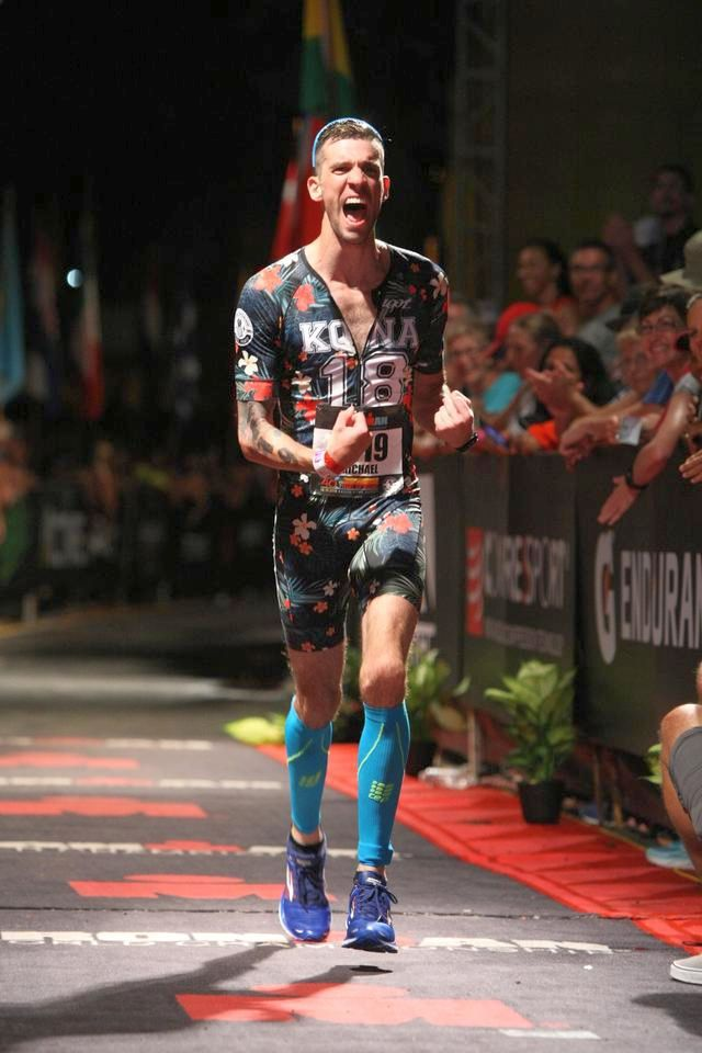 Michael Lalli felt a major sense of accomplishment as he crossed the finish line.