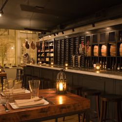 Amada: Jose Garces exploded onto the scene with Amada, which is still one of Philly's prettiest spaces. His flagship restaurant is also still his best, and a big piece of that enduring love is for the design of the bar and dining room. Lots of meat in the