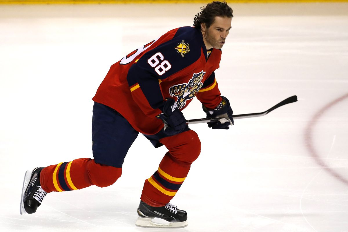 Jaromir Jagr is coming to the Rock tonight!
