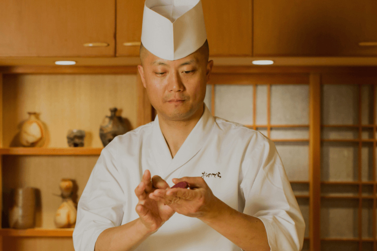 Chef at Sushi Ginza Onodera in West Hollywood.