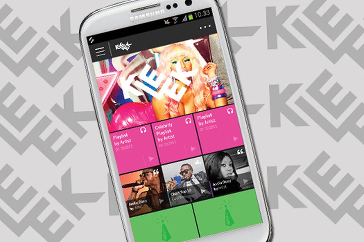 Kleek music service