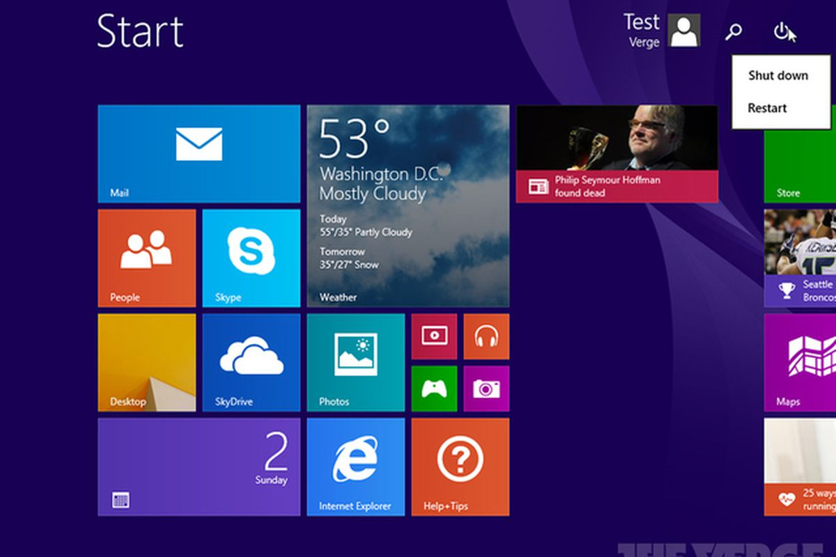 Windows 8 1 Update 1 Download Leaked Early By Microsoft