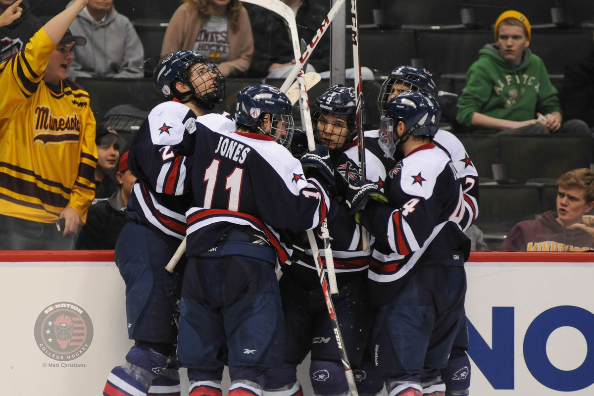 Robert Morris is the No. 1 seed in the Atlantic Hockey Tournament.