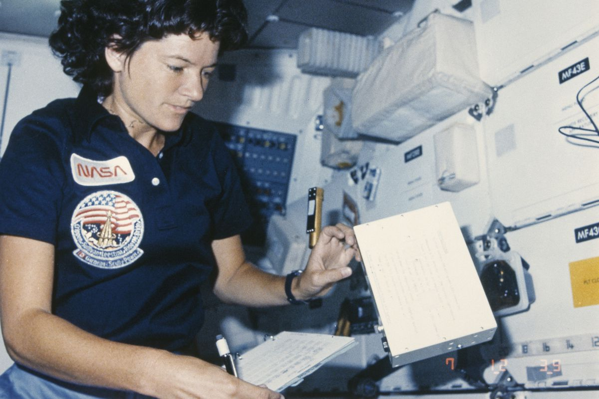 Nasa Thought Sally Ride Needed 100 Tampons For 1 Week Just To Be