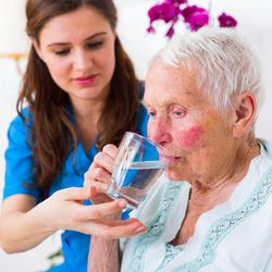 Some studies suggest that a third of seniors are chronically dehydrated and unaware that the condition may be responsible for health problems such as dizziness, confusion and constipation.