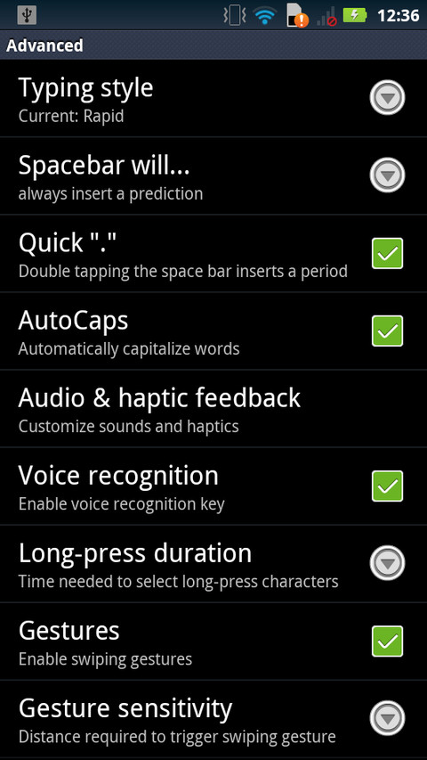 SwiftKey X keyboard for Android updated with new language