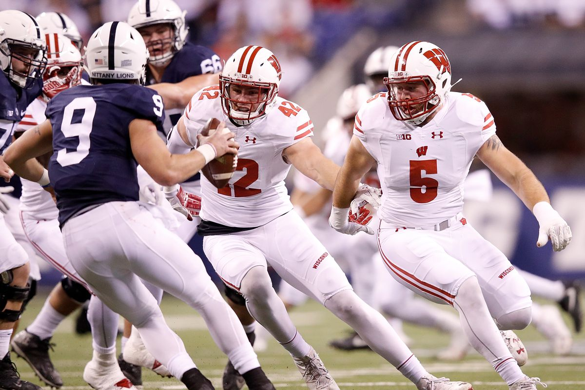 cheaper 1c96c c4357 Is Garret Dooley Wisconsin's next NFL-caliber outside ...