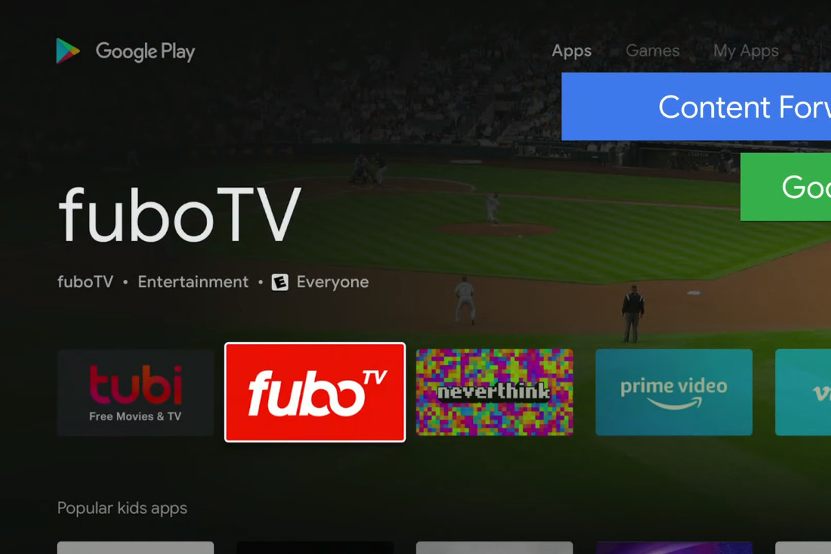 Android TV's redesigned Play Store is all about simple