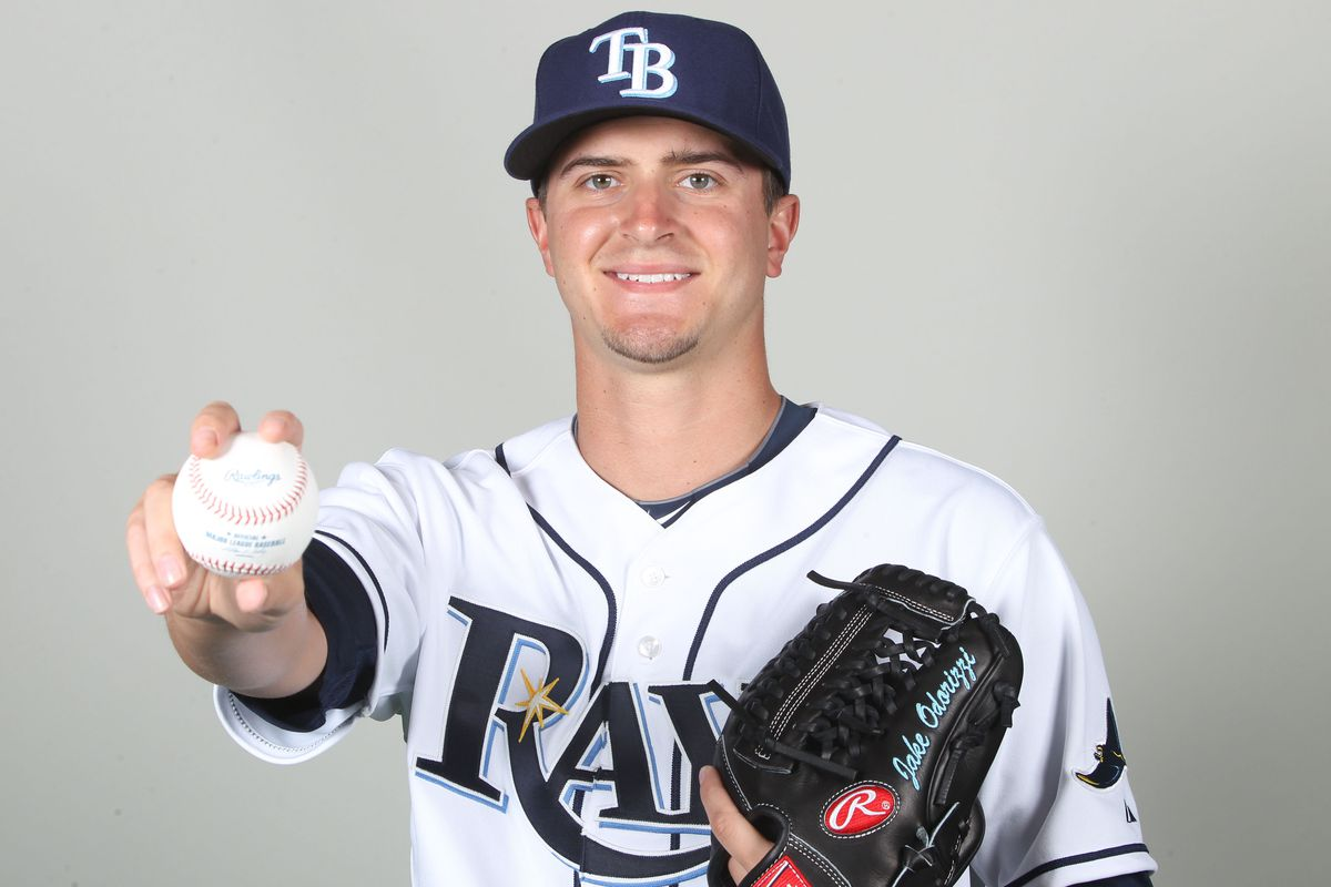 Jake Odorizzi struggled with command, but he threw seven no-hit innings Sunday