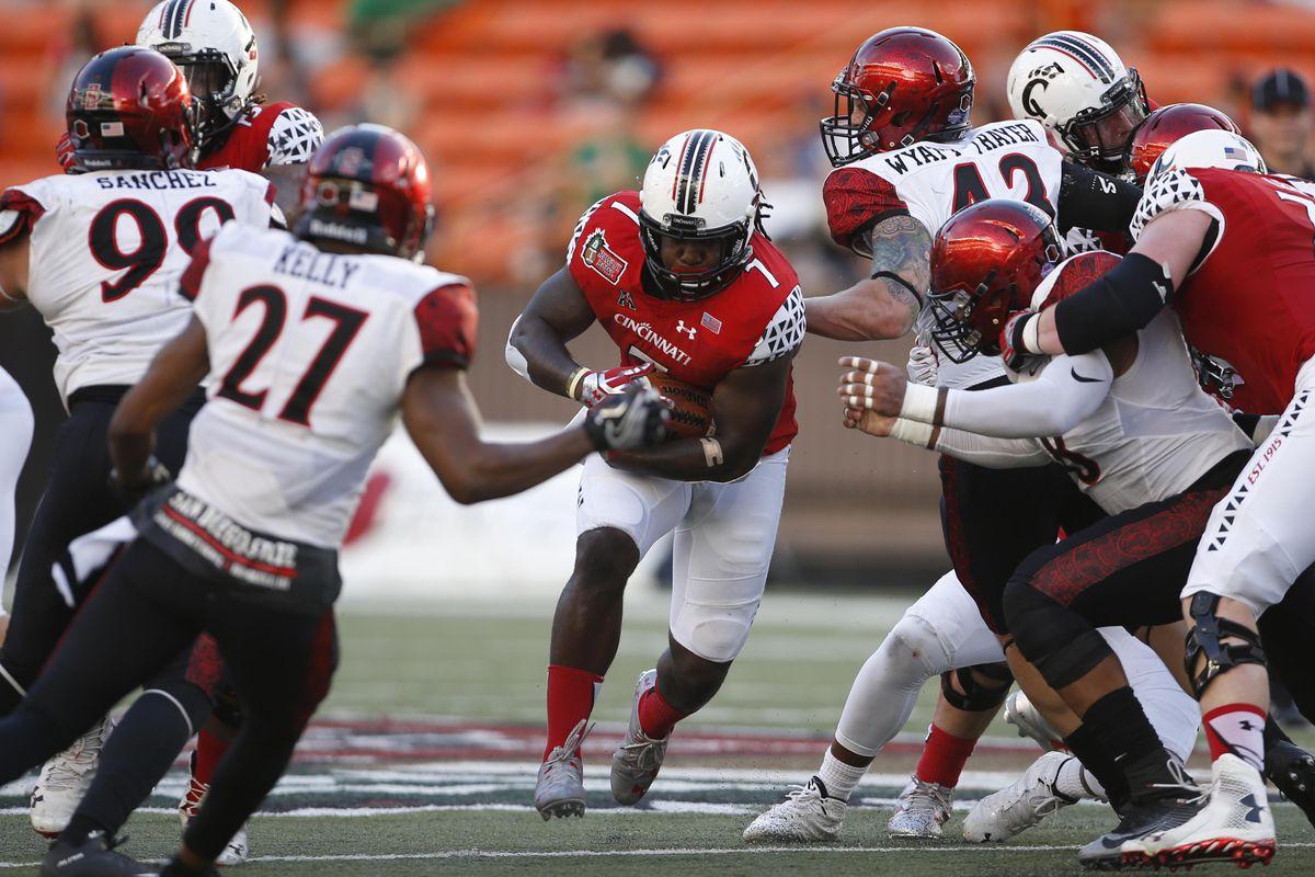 NCAA Football: Hawaii Bowl-San Diego State vs Cincinnati
