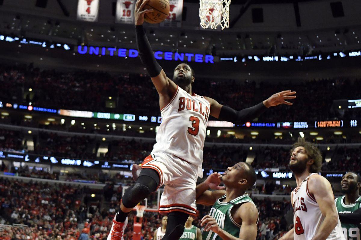 NBA: Playoffs-Boston Celtics at Chicago Bulls