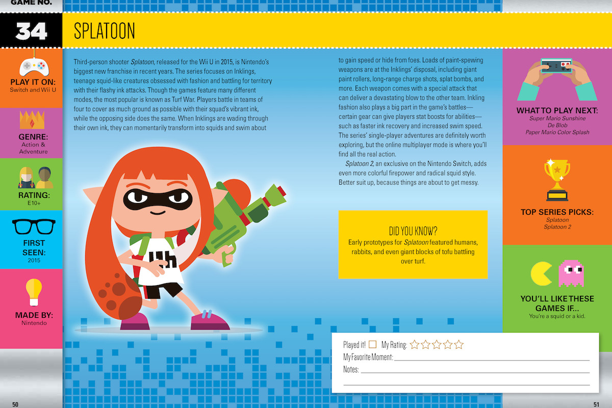 &nbsp;<br>101 Video Games to Play Before You Grow Up — Splatoon
