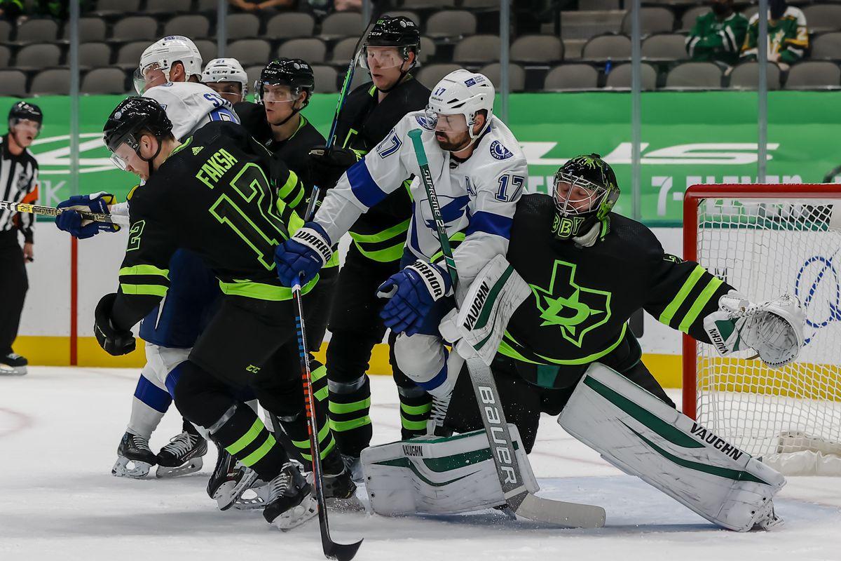 NHL: MAR 23 Lightning at Stars