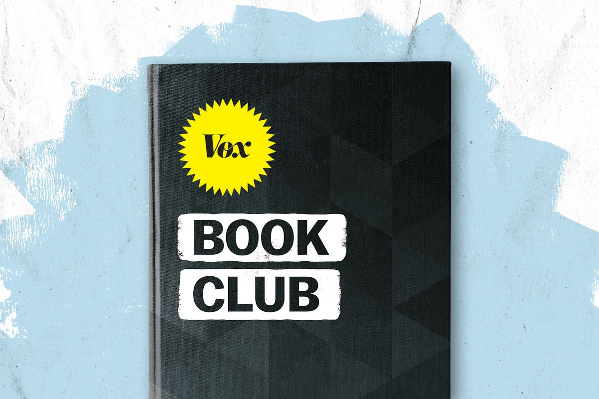 A book with the words Vox Book Club on the cover.