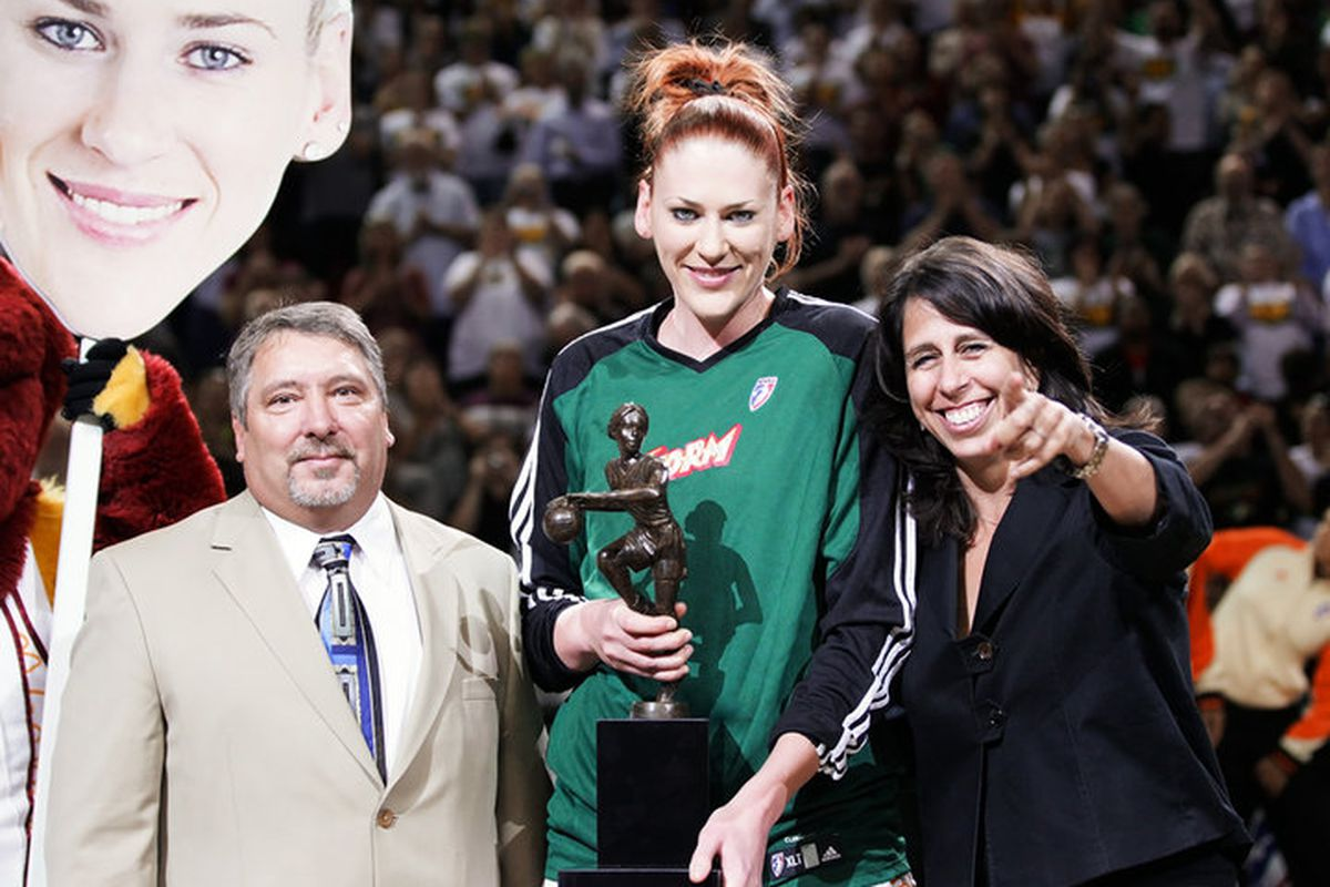 """Of all the great memories from this season, the one that will stand out most in my mind is that of Lauren Jackson's MVP performance. <em>Photo by <a href=""""http://www.kailasimages.com"""" target=""""new"""">Kailas Images</a>.</em>"""