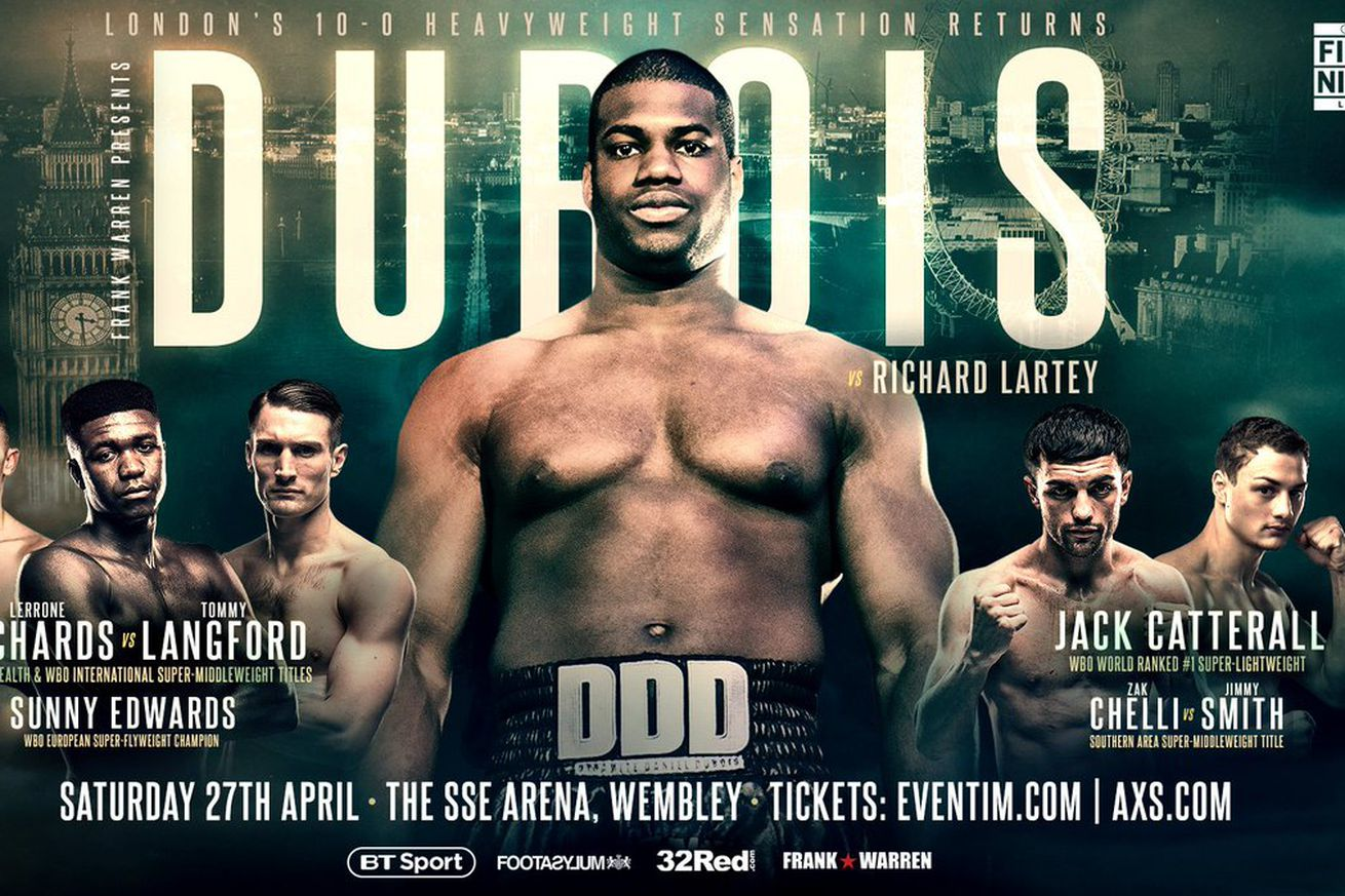 D1s3CG9WsAEmbKf.0 - How to watch Dubois vs Lartey