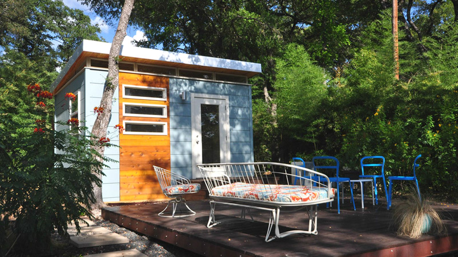 5 cool prefab backyard sheds you can order right now curbed for Prefab backyard homes