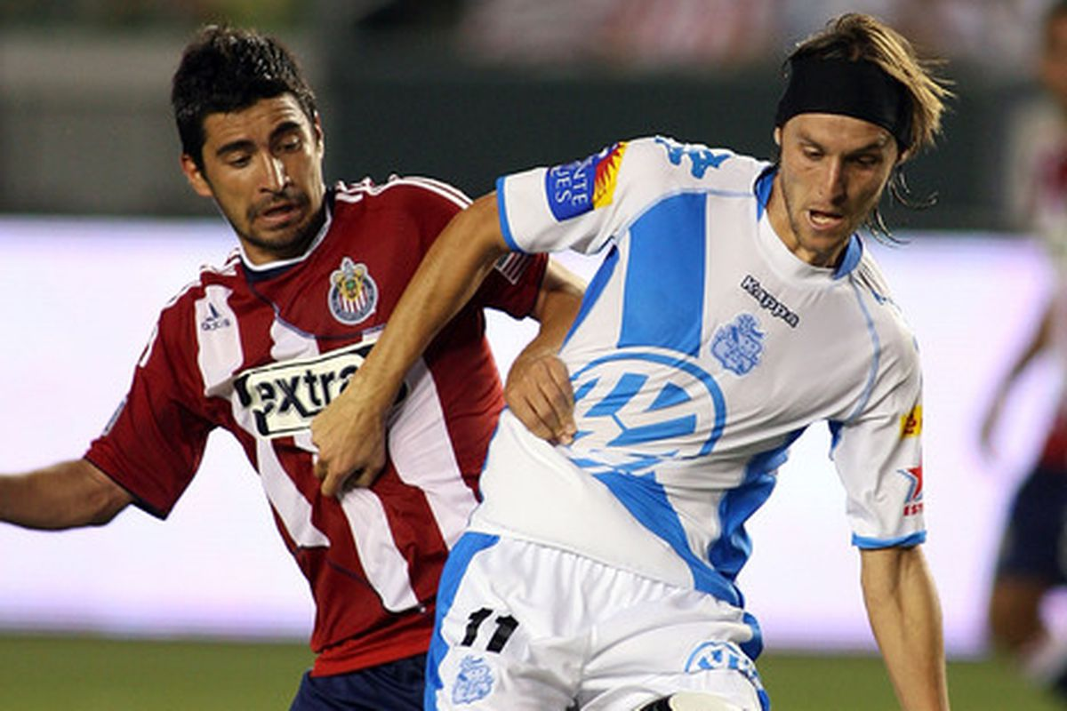 Chelis coached against Chivas USA in this Superliga match in 2010