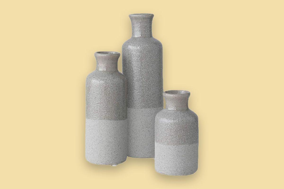 Sullivans Small Ceramic Vase Set