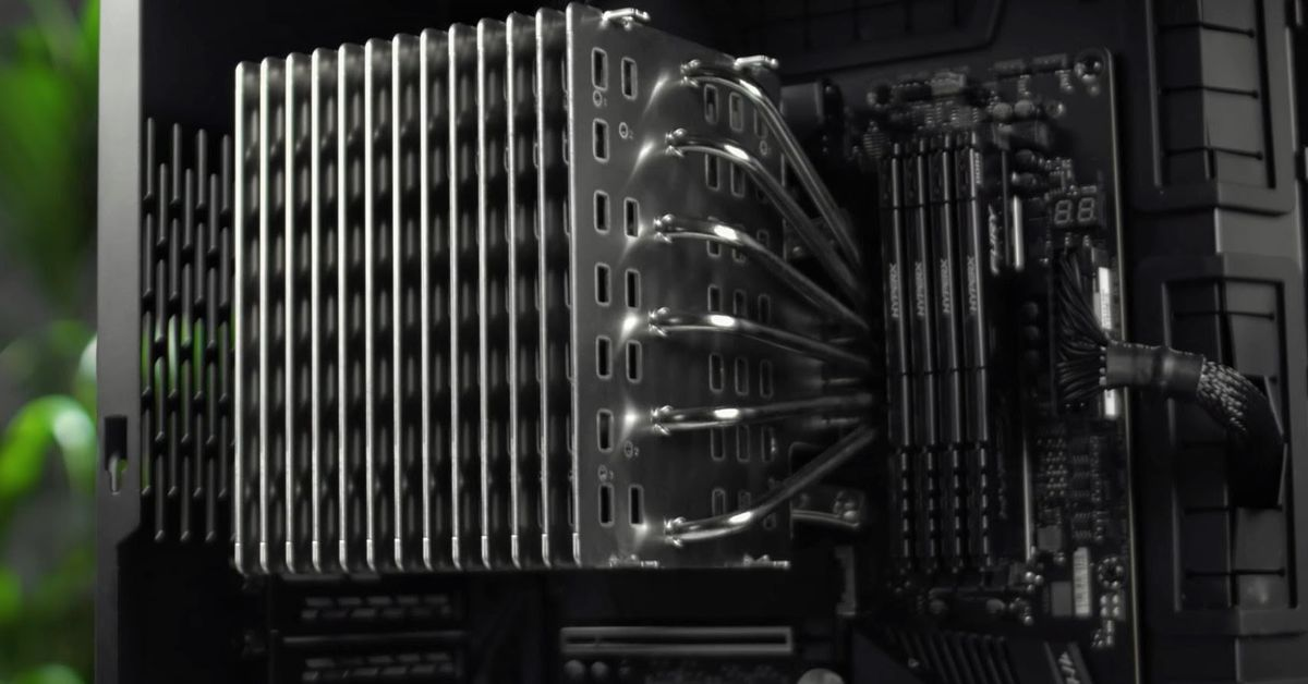 Noctua's long-awaited passive CPU cooler is here
