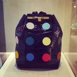 """Damien Hirst's signature spots. Suddenly we want to play <a href=""""http://www.amazon.com/Hasbro-4645-Twister/dp/B00000DMBK"""">Twister</a>."""