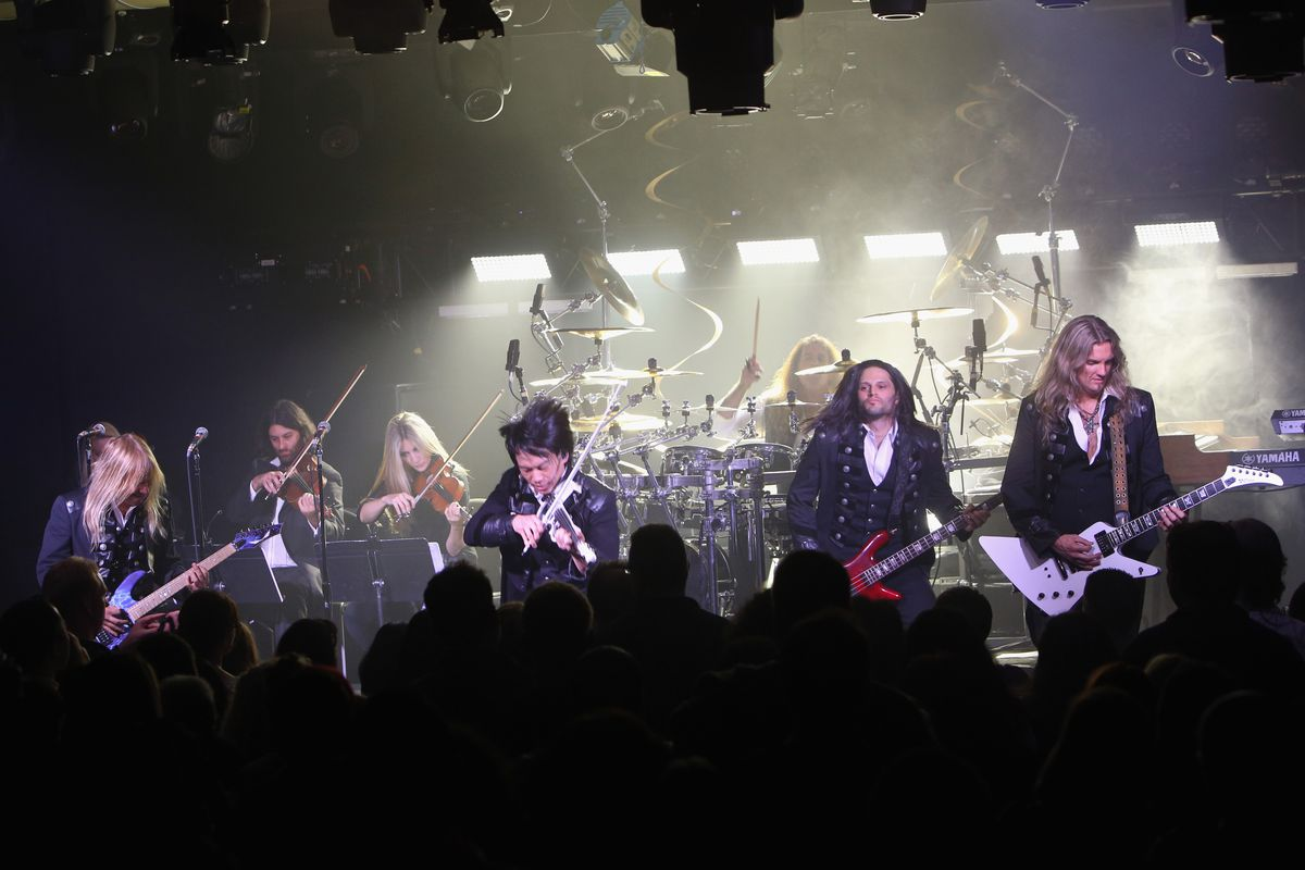 Trans-Siberian Orchestra, pictured in 2015.
