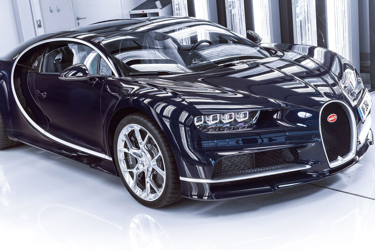 bugatti sold more than $650 million in chiron supercars without a