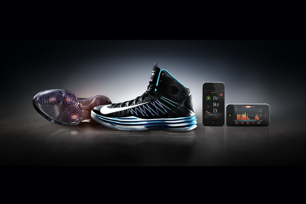 photos officielles eb460 002bc Nike+ Basketball and Training sneakers track your game, push ...