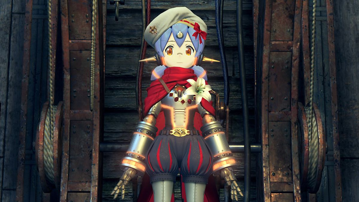 The anime-inspired character design of Xenoblade Chronicles 2.