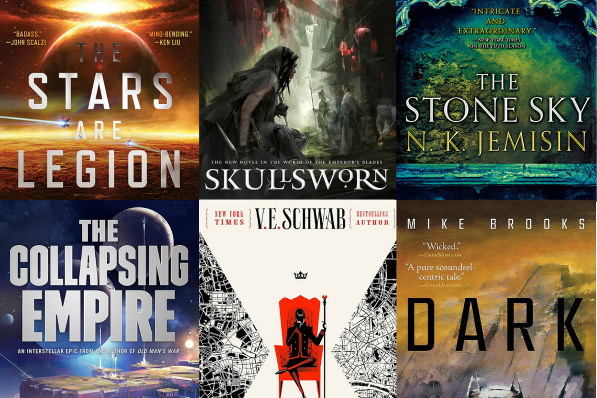 Weve Already Taken A Look At What Novels Are Hitting Bookshelves This Month But 2017 Promises To Be Huge Year For Science Fiction And Fantasy Literature