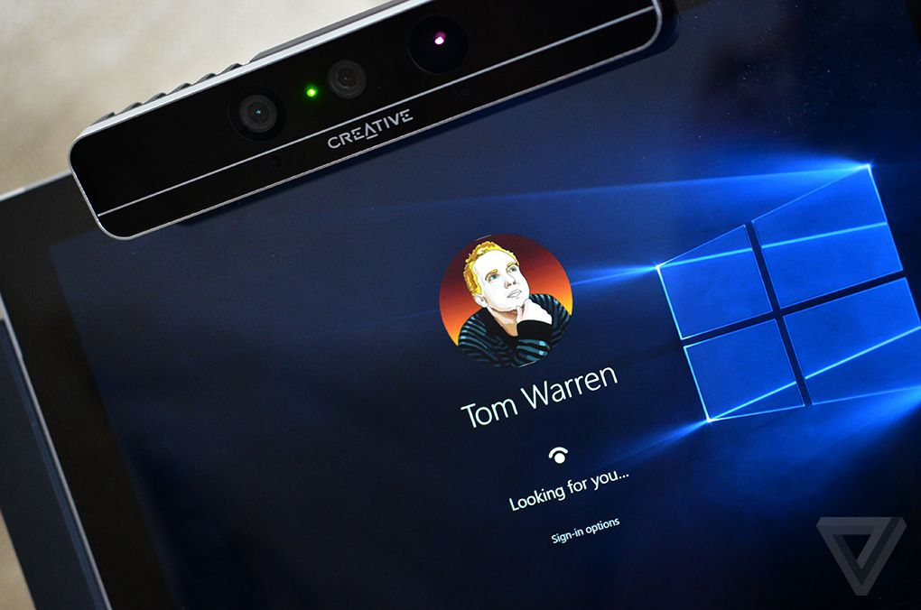 Windows 10's face authentication defeated with a picture