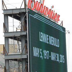 1:13 p.m. In memory of Lennie Merullo -